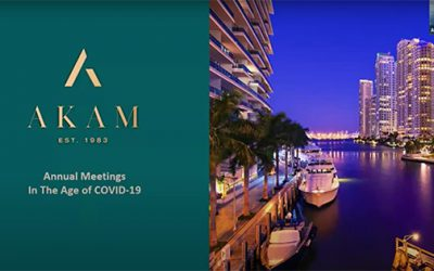 Florida – Annual Meetings In The Age of covid-19