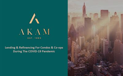 NY – Lending & Refinancing For Condos & Co-ops During The COVID-19 Pandemic