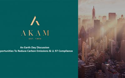 An Earth Day Discussion On Local Law 97 & Opportunities to Reduce Carbon Emissions In NY