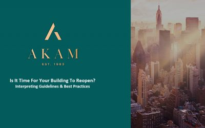 Is It Time For Your Building To Reopen? Interpreting Guidelines & Best Practices